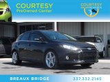 2012 Tuxedo Black Metallic Ford Focus Titanium 5-Door #76224497