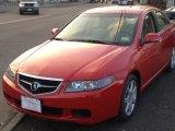 2005 Milano Red Acura TSX Sedan #76224260