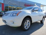 2013 Pearl White Nissan Rogue SV #76224253
