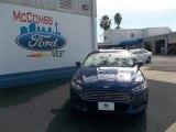 2013 Deep Impact Blue Metallic Ford Fusion SE #76223990