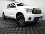 2007 Super White Toyota Tundra Limited CrewMax 4x4 #76224345