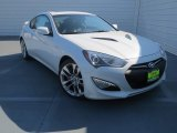 2013 White Satin Pearl Hyundai Genesis Coupe 3.8 Track #76224190