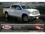 2013 Super White Toyota Tundra Platinum CrewMax 4x4 #76223810