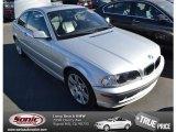 2003 Titanium Silver Metallic BMW 3 Series 325i Coupe #76279320