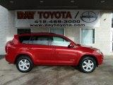 2011 Barcelona Red Metallic Toyota RAV4 Limited 4WD #76279051