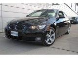 2009 Jet Black BMW 3 Series 328xi Coupe #76279048