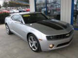 2010 Silver Ice Metallic Chevrolet Camaro LT/RS Coupe #76279697