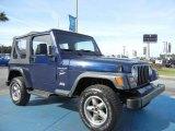 1997 Jeep Wrangler Dark Blue Pearl