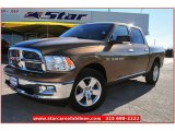 2012 Saddle Brown Pearl Dodge Ram 1500 Lone Star Crew Cab 4x4 #76279408