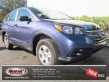 2013 Twilight Blue Metallic Honda CR-V LX #76278989