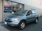 2010 Opal Sage Metallic Honda CR-V LX AWD #76279639
