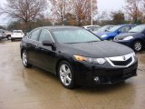 2010 Crystal Black Pearl Acura TSX Sedan #76279384
