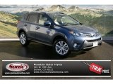 2013 Shoreline Blue Pearl Toyota RAV4 Limited AWD #76278958