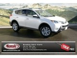 2013 Blizzard White Pearl Toyota RAV4 Limited AWD #76278956