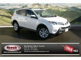 2013 Blizzard White Pearl Toyota RAV4 Limited AWD #76278955