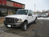 2004 Oxford White Ford F250 Super Duty XL SuperCab 4x4 #76279622