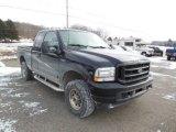 2002 Black Ford F250 Super Duty XLT SuperCab 4x4 #76279252