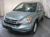 2011 Opal Sage Metallic Honda CR-V EX-L 4WD #76279488