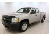 2008 Chevrolet Silverado 1500 Work Truck Extended Cab Front 3/4 View