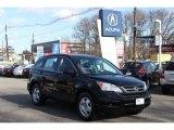 2010 Crystal Black Pearl Honda CR-V LX AWD #76279060