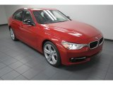 2013 Melbourne Red Metallic BMW 3 Series 335i Sedan #76332938