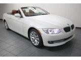 2013 Mineral White Metallic BMW 3 Series 328i Convertible #76332935