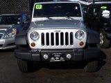2011 Bright Silver Metallic Jeep Wrangler Sport S 4x4 #76333070