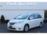 2011 Blizzard White Pearl Toyota Sienna Limited AWD #76332516