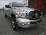 2008 Bright Silver Metallic Dodge Ram 1500 Laramie Mega Cab 4x4 #76333199