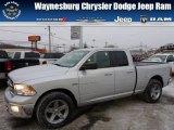 2011 Bright Silver Metallic Dodge Ram 1500 Big Horn Quad Cab 4x4 #76332792