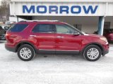 2013 Ruby Red Metallic Ford Explorer XLT #76332613