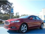 2013 Ruby Red Metallic Ford Fusion SE 1.6 EcoBoost #76332585