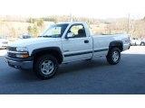 2000 Summit White Chevrolet Silverado 1500 LS Regular Cab 4x4 #76333028