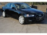 2013 Brilliant Black Audi A4 2.0T quattro Sedan #76333142