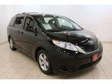 2011 Black Toyota Sienna LE #76333005