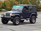 2006 Midnight Blue Pearl Jeep Wrangler Unlimited 4x4 #76332868