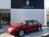 2010 Sangria Red Metallic Ford Fusion SE V6 #76332696