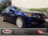 2013 Obsidian Blue Pearl Honda Accord EX-L Sedan #76332430