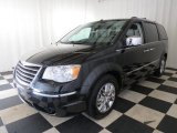 2008 Chrysler Town & Country Brilliant Black Crystal Pearlcoat