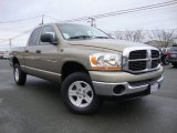 2006 Light Khaki Metallic Dodge Ram 1500 SLT Quad Cab 4x4 #76332974
