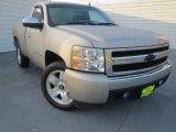 2008 Silver Birch Metallic Chevrolet Silverado 1500 Work Truck Regular Cab #76332816