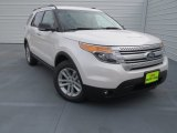 2013 White Platinum Tri-Coat Ford Explorer XLT #76332812