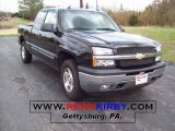 2005 Black Chevrolet Silverado 1500 LS Extended Cab 4x4 #7636625
