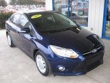 2012 Kona Blue Metallic Ford Focus SE SFE Sedan #76389577