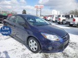2012 Kona Blue Metallic Ford Focus S Sedan #76389440