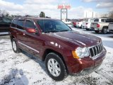 2008 Red Rock Crystal Pearl Jeep Grand Cherokee Limited 4x4 #76389433