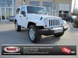 2011 Bright White Jeep Wrangler Sahara 4x4 #76389429