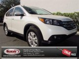 2013 White Diamond Pearl Honda CR-V EX-L #76388925