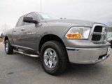 2011 Mineral Gray Metallic Dodge Ram 1500 SLT Quad Cab 4x4 #76389277