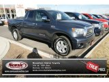 2008 Slate Gray Metallic Toyota Tundra Limited Double Cab 4x4 #76388886